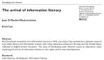 Desarrollando América Latina: La llegada de la alfabetizacióninformacional